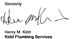 Kidd plumbing raleigh